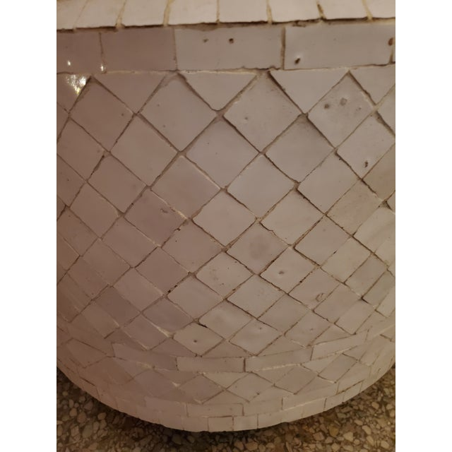 2020s Moroccan Zen Style White Fountain For Sale - Image 5 of 7