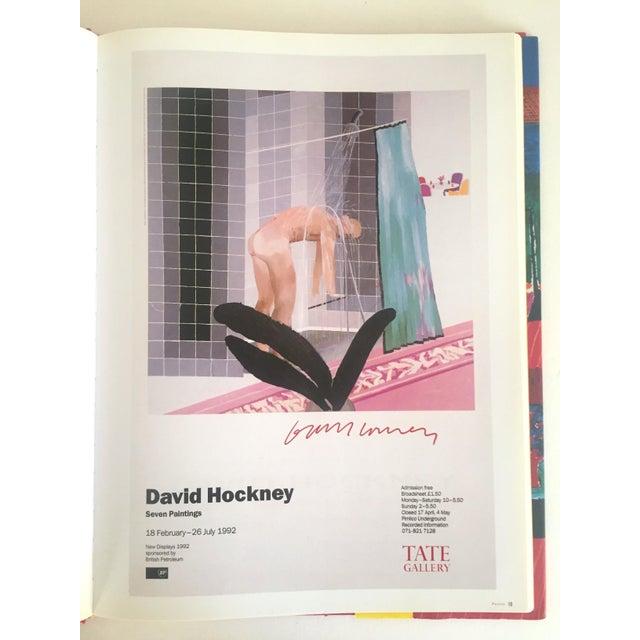 """David Hockney Poster Art"" 1st Edition Vintage 1995 Collector's Art Book - Image 7 of 11"