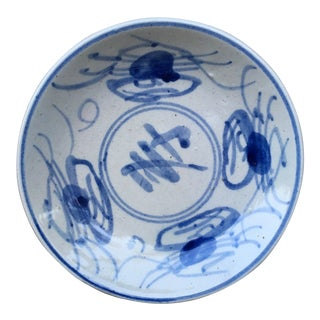 Late 19th Century Antique Chinese Plate For Sale