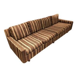Mid Century Milo Baughman Sofa for Thayer Coggin For Sale