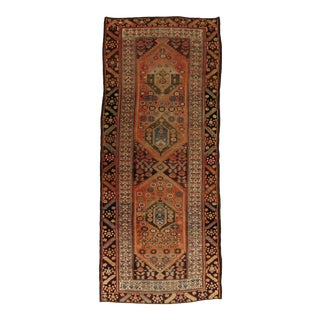 """Antique Persian Runner Rug 3'3""""x 8'1"""" For Sale"""