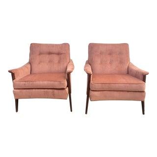 Pair of Mid-Century Lounge Chairs by Kroehler