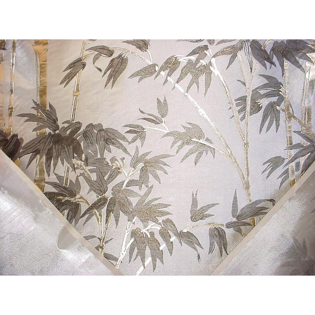 Asian Kravet Couture Asian Chic Embossed High Shine Silk Upholstery Fabric - 9-3/4y For Sale - Image 3 of 5