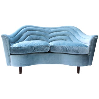 Italian Loveseat by Andrea Busiri Vici For Sale