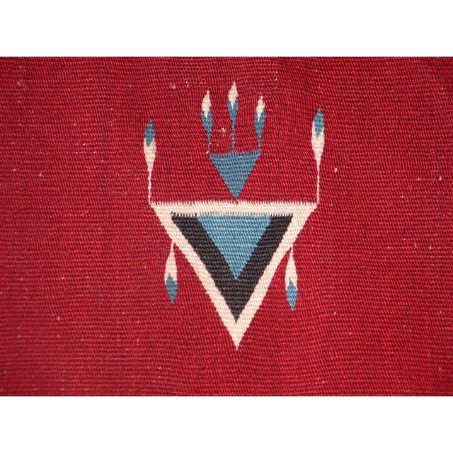 Vintage Southwest Saltilo Serape Rug - 4′10″ × 6′8 - Image 4 of 10