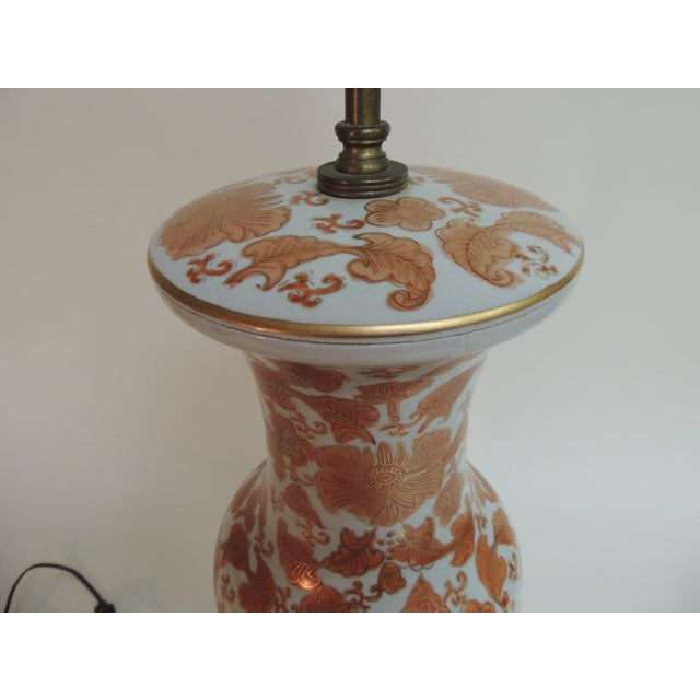 Imari Floral Porcelain Tall Table Lamp - Image 6 of 7