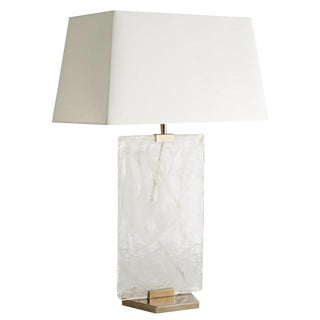 Arteriors Opal Swirl Glass Maddox Lamp For Sale