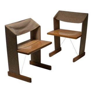 "Set of Two ""Canossa"" Chairs by Gigi Sabadin for Stilwood For Sale"