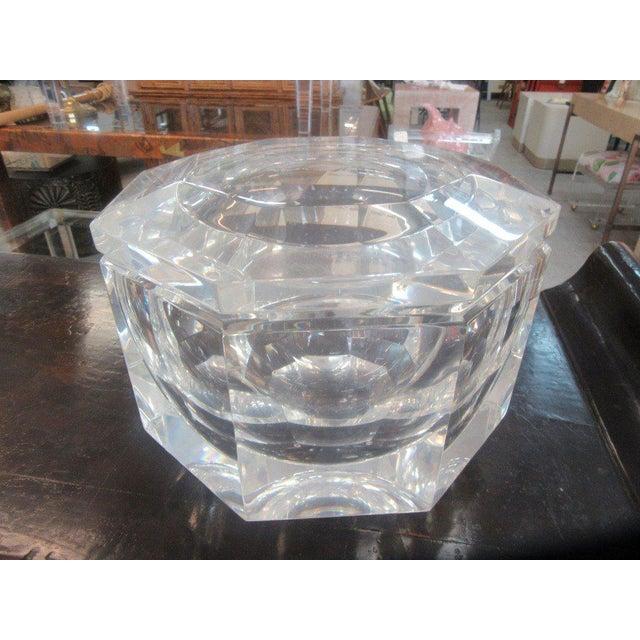 Mid-Century Lucite Ice Bucket - Image 2 of 8