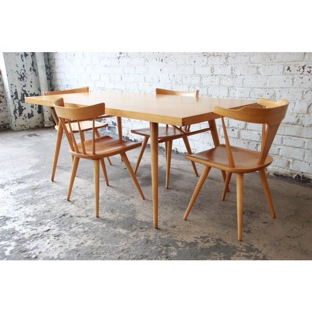 1950s Paul McCobb Planner Group Dining Set for Winchendon Furniture For Sale - Image 5 of 11