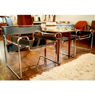Mid Century Breuer Gavina Wassily Chairs- Made in Italy- a Pair Preview