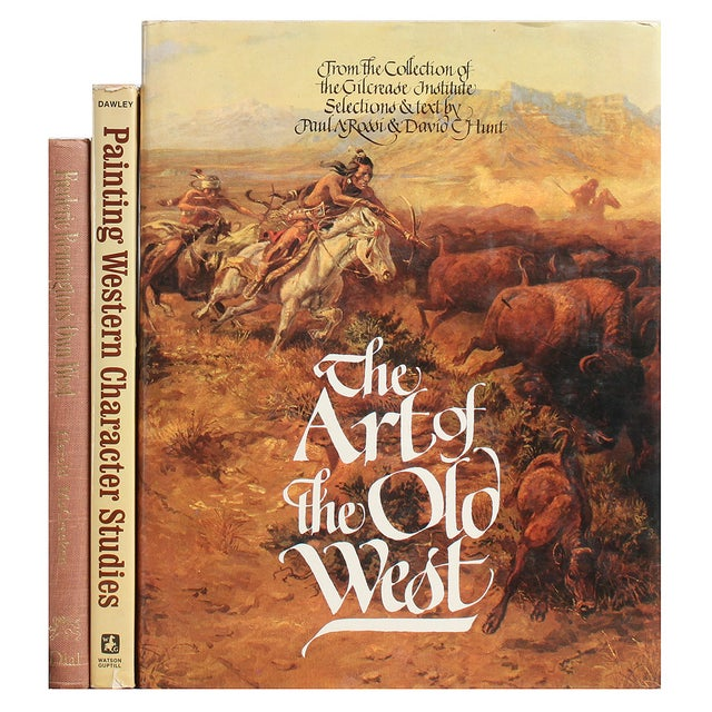 Western Art Trio - Set of 3 - Image 1 of 2