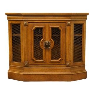 """1960s Italian Thomasville Furniture Villa d'Este Collection 36"""" Accent Console Cabinet For Sale"""