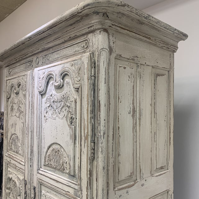 Early 19th Century Antique French Armoire For Sale - Image 10 of 11