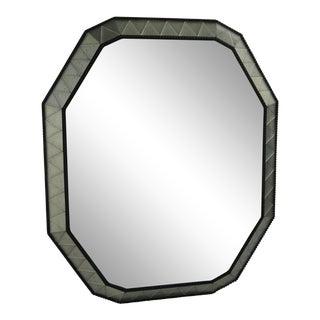 Large Octagonal Antiqued Mirror