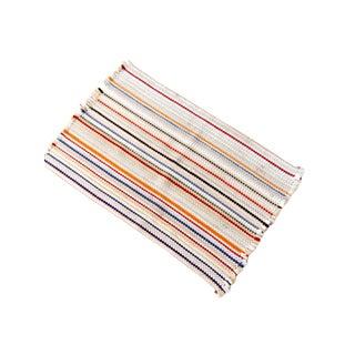 Vintage Accent Rag Rug For Sale
