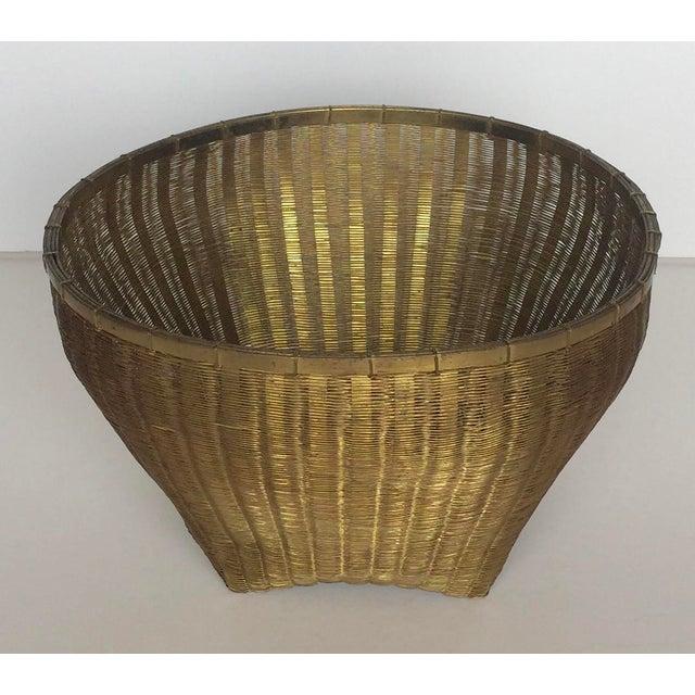 Solid Brass Basket - Image 7 of 7