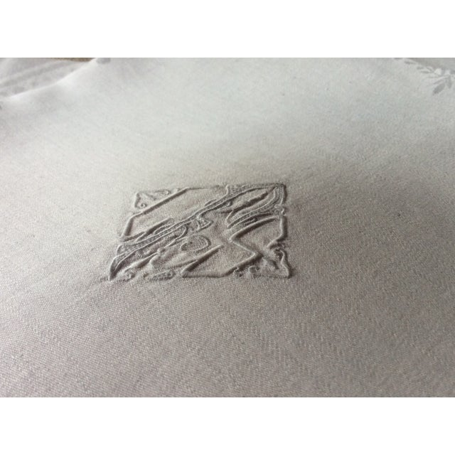 French 1900s French Linen Napkins - Set of 10 For Sale - Image 3 of 13