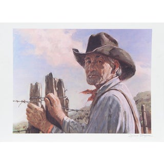 Duane Bryers, Range Royalty, Lithograph For Sale