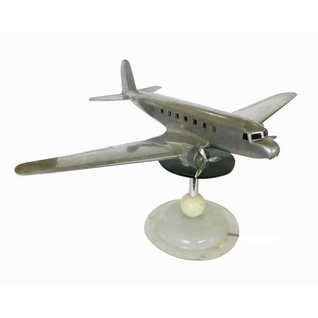 Douglas DC-2 Airplane Aluminum Model Lamp, circa 1934 - Image 4 of 10