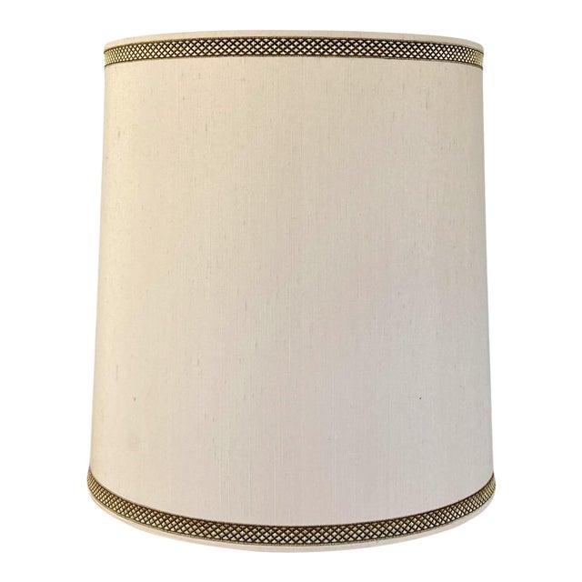 1970s Stiffel Silk Lamp Shade For Sale