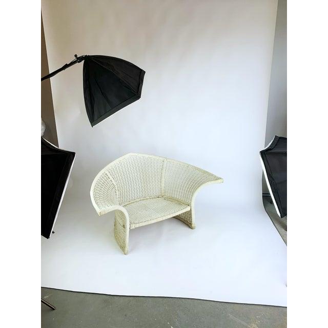 Vintage Rope Bird Lounge Coastal Chair Aft Bertoia For Sale - Image 12 of 13
