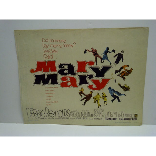 Vintage Movie Poster 'Mary Mary' - Image 2 of 4