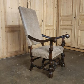 19th Century French Louis XIII Walnut Fauteuil ~ Armchair Preview