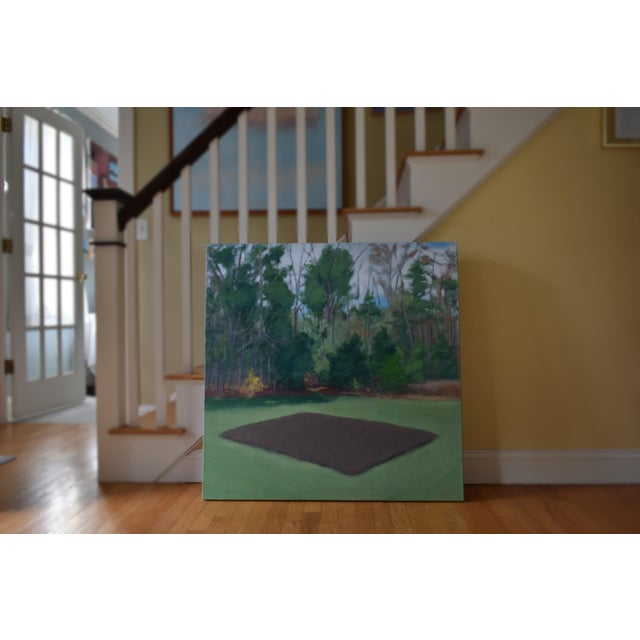 Waiting for the last frost here in New England to plant the new backyard vegetable garden. Painted in 2020. This is...