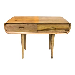 Tropical Salvage Mid-Century Modern Styled Console For Sale