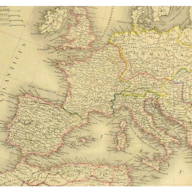 Antique Roman Empire Map, 1838 - Image 2 of 4