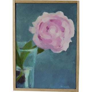 """Peony"" Original Painting by Anne Carrozza Remick"