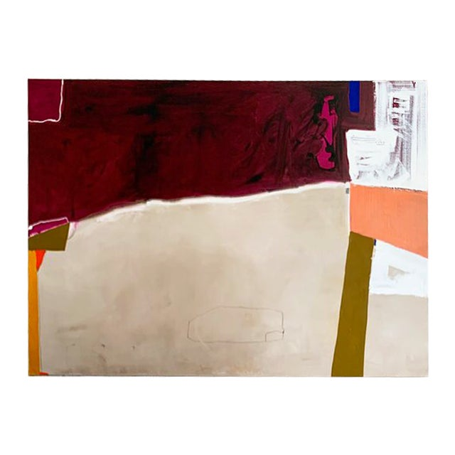 Monumental Contemporary Abstract Painting XII by William McLure For Sale