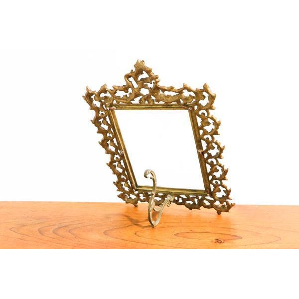 Elegant Golden Picture Frame For Sale In New York - Image 6 of 6