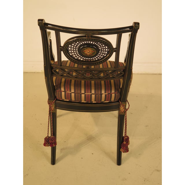 Smith & Watson Regency Decorated Armchairs - A Pair - Image 8 of 11