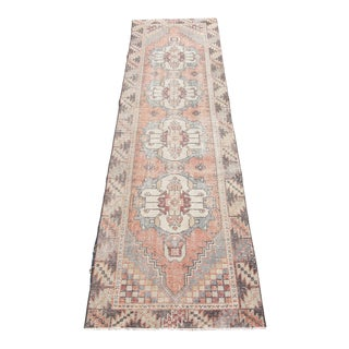 1970s Vintage Turkish Runner-2′7″ × 9′2″ For Sale