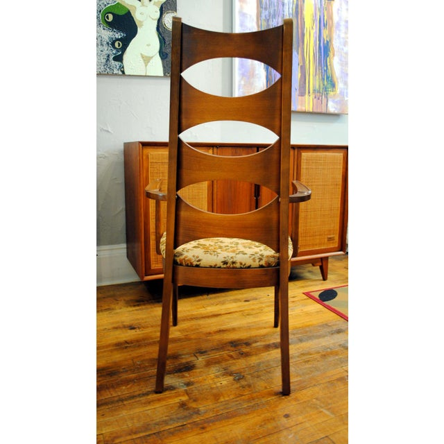 Kent Coffey Mid-Century Perspecta Dining Chairs - Set of 8 - Image 9 of 11