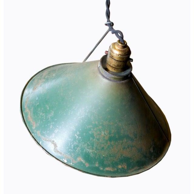 Adjustable Vintage Pendant Lights - Set of 3 - Image 6 of 7