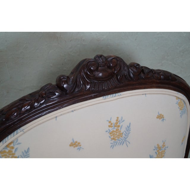Jeffco J. Peterman Collection French Arm Chair For Sale - Image 5 of 10