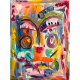 Image of Abstract Face by Ebony Boyd For Sale