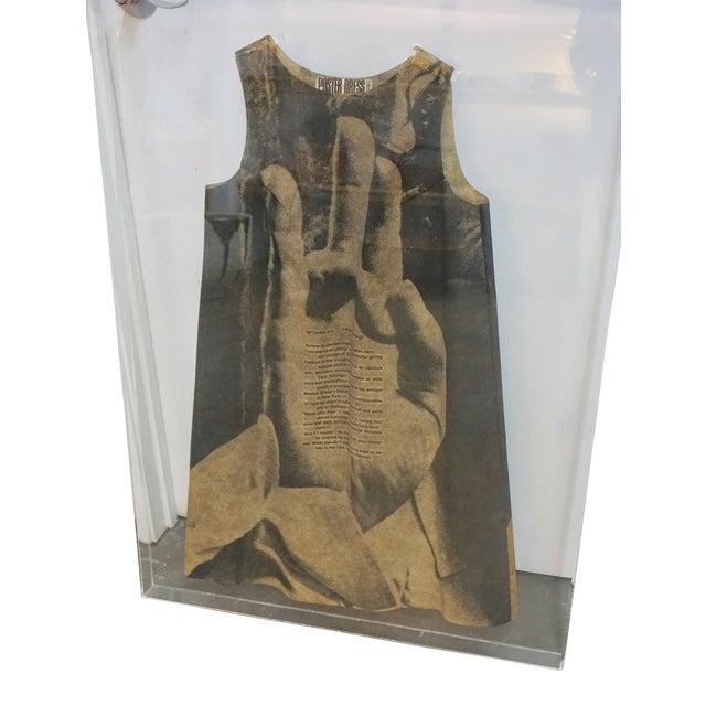 Pop Art Paper Dress by Harry Gordon For Sale