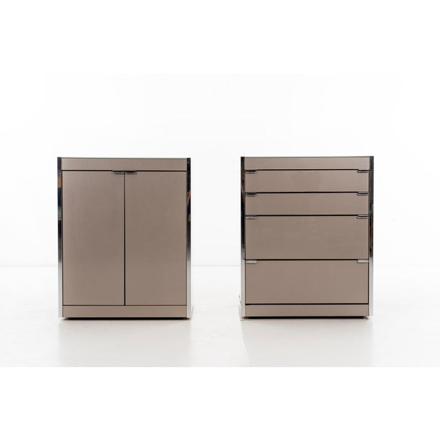 White Ello Nightstands or Cases For Sale - Image 8 of 13