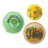 Image of Southern European Souvenir Change Dishes / Ashtrays For Sale