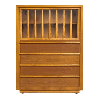 Mid Century Robsjohn-Gibbings for Widdicomb Secretary Cabinet For Sale