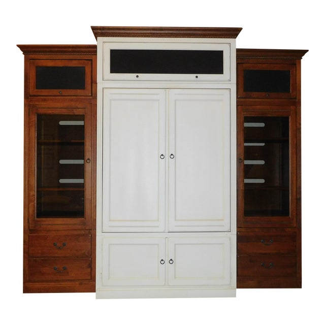 Ethan Allen Entertainment Center - Image 1 of 3