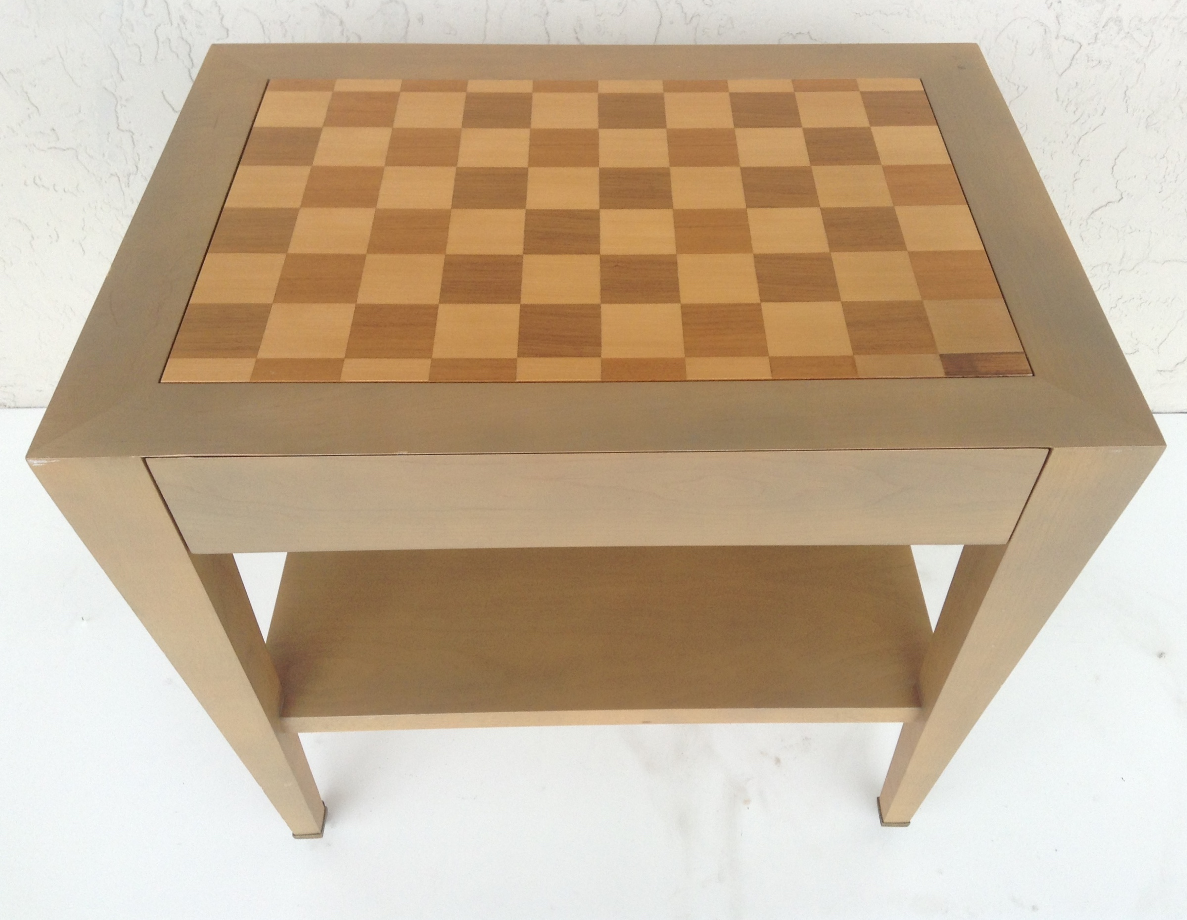 Donghia Paris Checkerboard Side Table   Image 2 Of 9