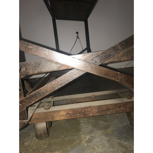 Antique Industrial Cobblers Shoe Rack Shelving Unit - Image 9 of 11