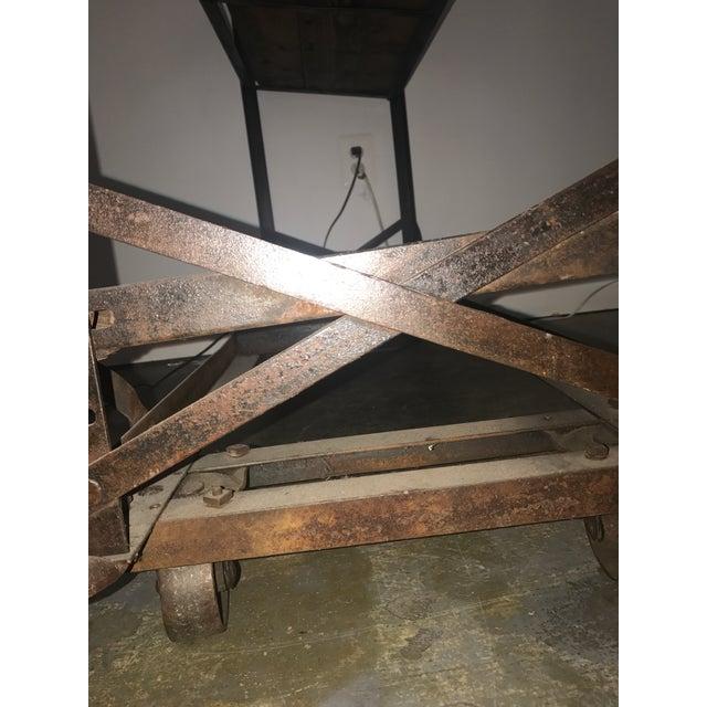 Antique Industrial Cobblers Shoe Rack Shelving Unit For Sale - Image 9 of 11