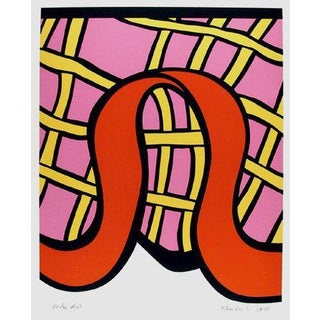 "1978 Nicholas Krushenick ""Kiss Kiss Candy"" Print For Sale"