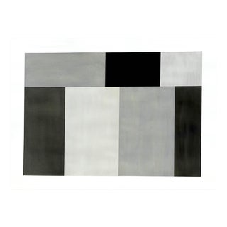 """Tom McGlynn """"Test Pattern 6 (Grey Study)"""", Painting For Sale"""